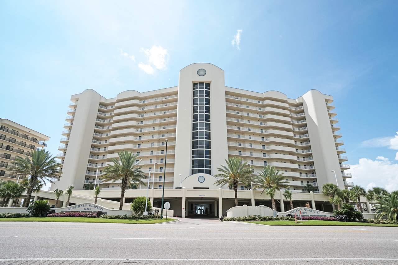 Admirals Quarters Condominium For Sale, Orange Beach, Alabama